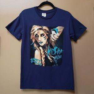 Kesha Get Sleazy concert tour tee